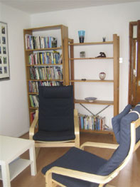 Gill's counselling room